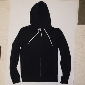 Old Navy black sweat jacket size xs